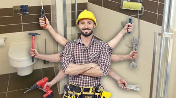 Handwerksmeister für Komplettbadsanierung