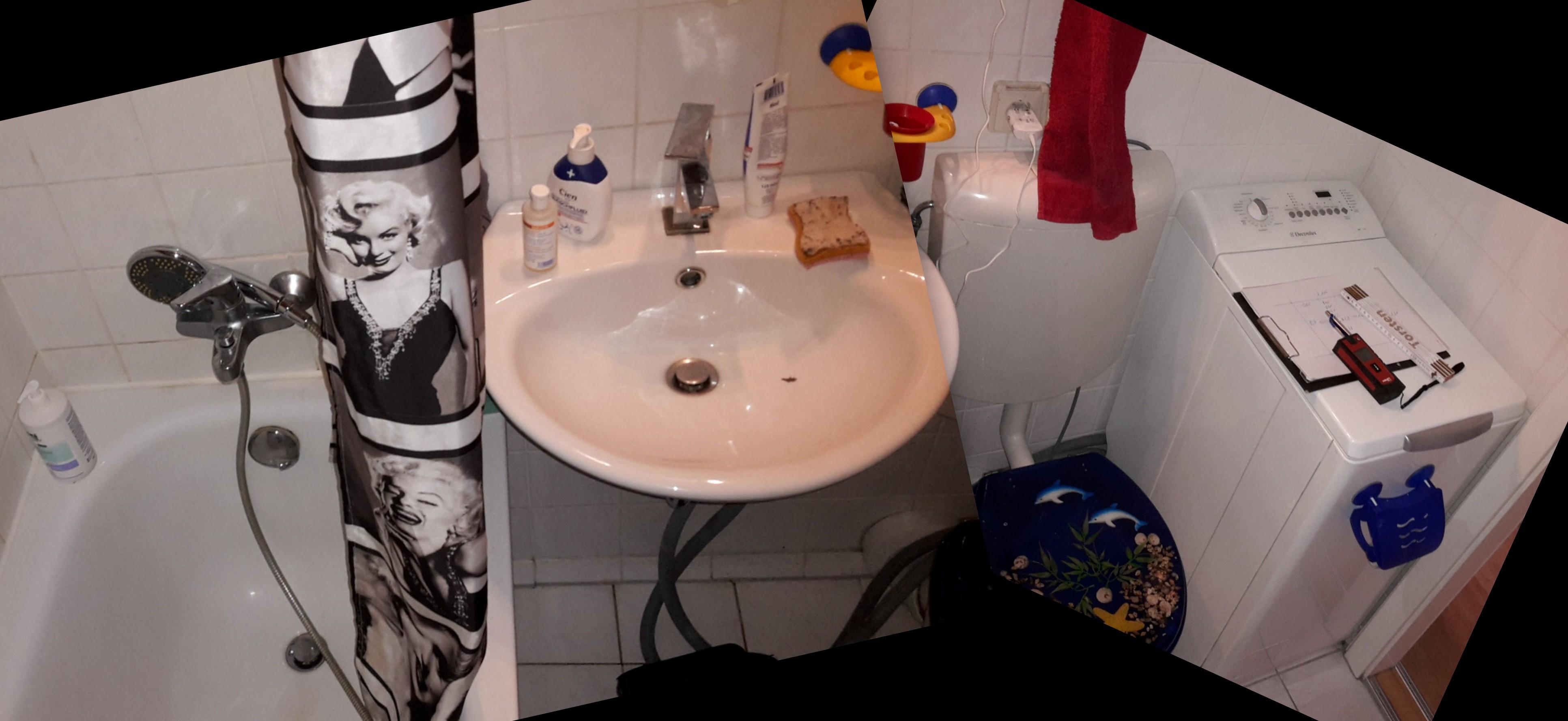 Lehof Bad Kleines Badezimmer